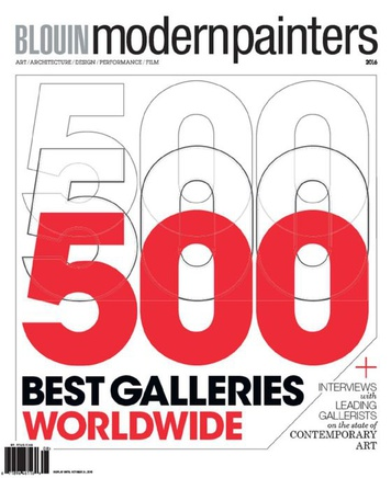 Modern Painters Magazine & Blouin ARTINFO – Top 500 Annual 2016