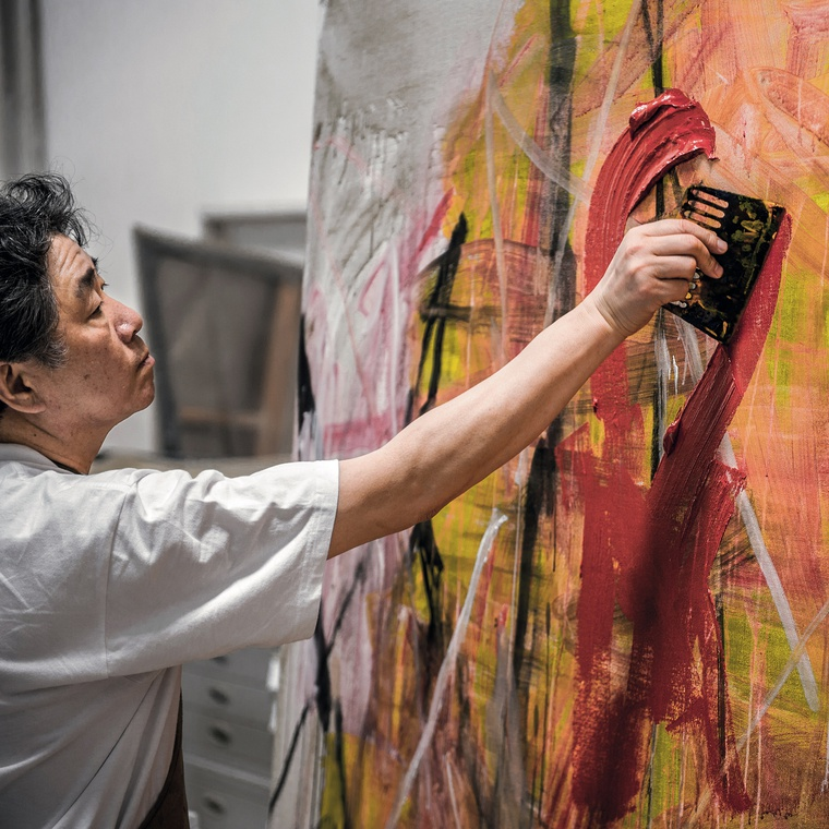 Bilingual Artist Talk: The Certainty Of Uncertainty - Tan Ping's Abstract Art